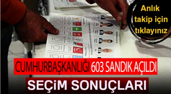 603 SANDIK AÇILDI