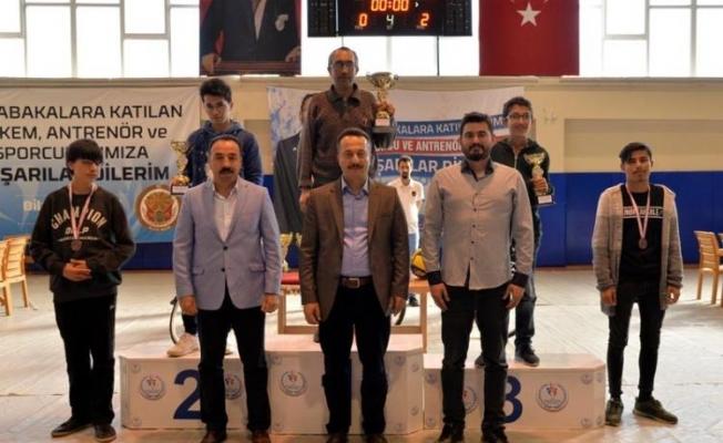 ''SATRANÇ TURNUVASI VALİLİK KUPASI'' SONA ERDİ