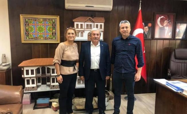 BAŞKAN ŞAHİN'E ZİYARET