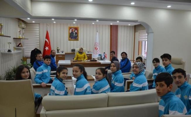 JUDOCULAR DENİZLİ'YE YOLCU EDİLDİ